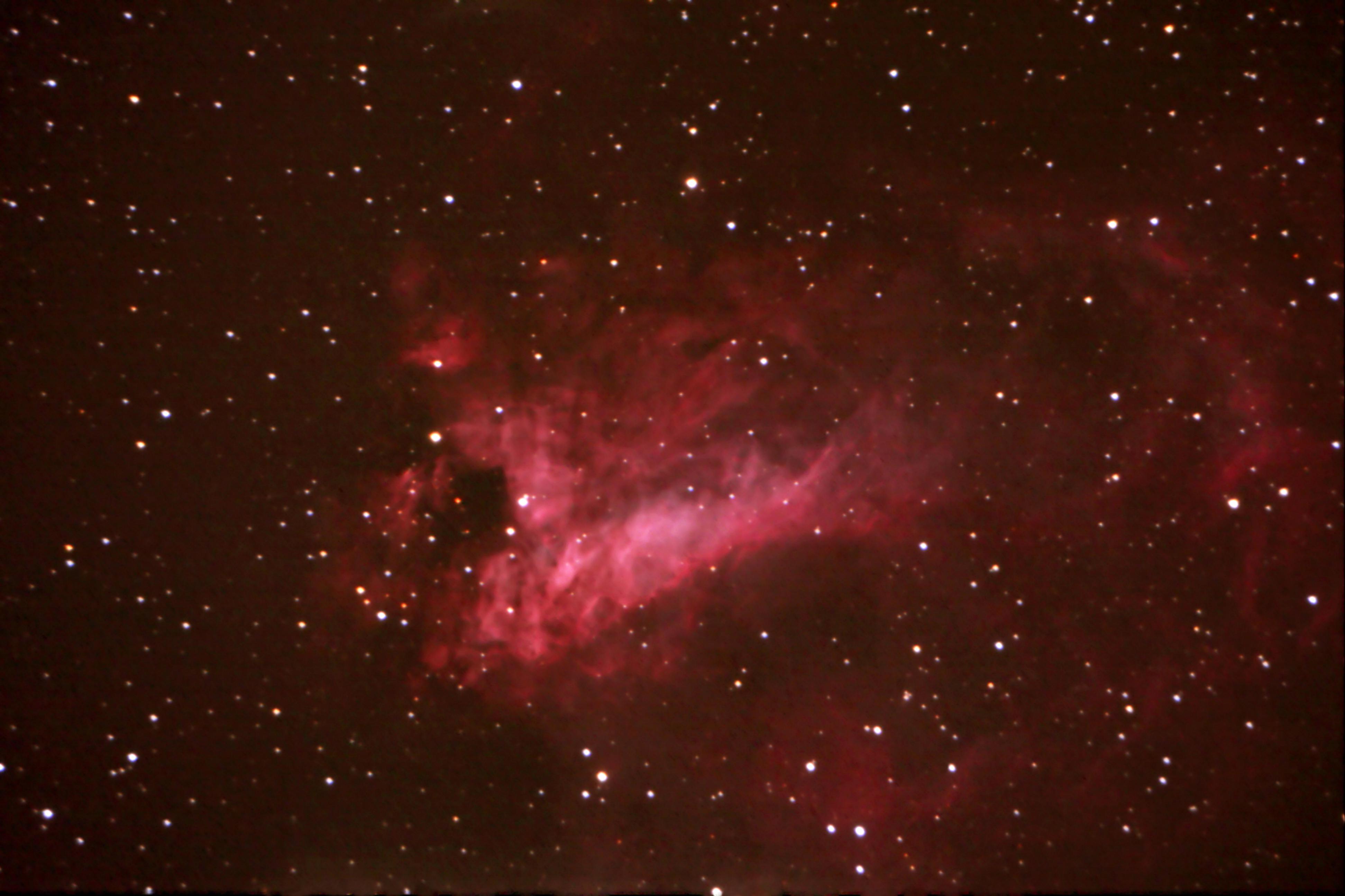 Swan Nebula Pics About Space